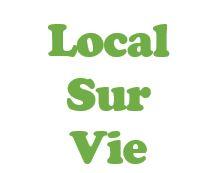 Logo temporaire local sur vie